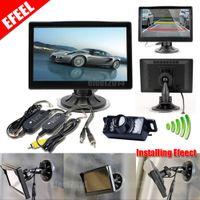 Wholesale NEW CAR REAR VIEW KIT quot TFT LCD MONITOR CCD REVERSING PARKING BACKUP CAMERA