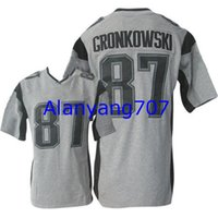 Wholesale Men Football Patriots GRONKOWSKI Gridiron Salute to Service Game Impact Embroidered jersey