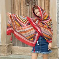 bali news - 2016 News Fashionable Comfortable Autumn And Winter Bali Yarn Long Scarf Shawl Twill Cotton Printing Shawl
