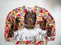 asap rocky crewneck - Real USA Size Asap rocky vibes D Sublimation print Crewneck Sweatshirts fleece streetwear plus size