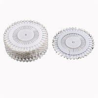 arts crafts home decorating - mm White Round Head Dressmaking Pearl Decorating Sewing Pin Craft For Home Garden DIY Crafts Tool Accessories
