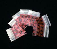 Precio de Bolsas de plástico para alimentos-3 * 4 cm Estancia Alta 100Pcs Transparente Alimentación Teléfono Tarjeta Válvula Hermética Bolsillo Zip Lock Plastic Gift Empaquetado Bolsas Para Collar Herb Bags