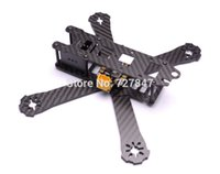 Wholesale Pure Carbon Fiber QAV R mm cross racing Quadcopter w Matek Systems PDB XT60 W BEC V amp V oz Copper For RC Helicopter