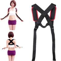 Wholesale Kyphosis Correction Therapy Belt Shoulder Brace Straightener Back Support Back Shoulder Posture Corrector for Men Women