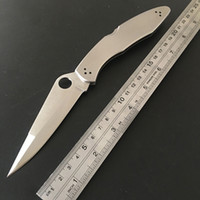 Wholesale Poli C07P Stainless Steel Handle VG blade Tactical Folding Knife C07 Tactical hunting Survival Bowie EDC Knife
