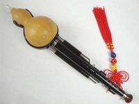 Ebène 3 Octaves 9 Trous 13 Notes Chinois Hulusi Flûte Bois Pro Niveau # 113