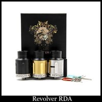 air revolvers - Revolver rda clone revolver mod rda with Adjustable supplemental top air flow and Two post with split center post DHL