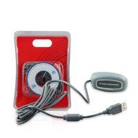 al por mayor adaptador receptor de juego para xbox-Adaptador sin hilos del receptor del USB del regulador del juego de la PC de la alta calidad para XBOX 360 liberan / el envío de la gota