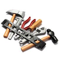 Wholesale 1 Set Children Kids Boy Building Tool Kits DIY Construction Toy Plastic Gifts
