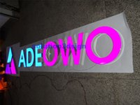 acrylic painting signed - Rimless solid acrylic color paint led sign board signage maker own neon sign led sign for indoor use