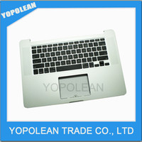 Wholesale Original Top case with US keyboard For MacBook Pro quot Retina A1398 topcase No trackpad