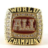 ali tin - Hot Sale boxing championship ring Muhammad Ali championship ring replica drop shipping