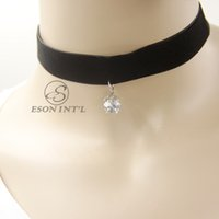Wholesale Hot Sale Chokers Necklace Fashion Black Necklace For Women s High Quality Party and Weeding Necklace Necklace Pandent