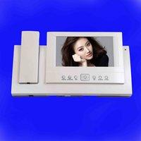 best door intercom - 2016 china best hot sales inch color video intercom door phone with memory for commax
