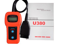 Wholesale U380 OBD2OBDII LCD Car Diagnostic Fault Scanner Code Reader