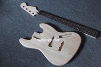 4 Strings bass project - New project electric bass kit ash body