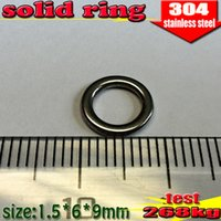 Wholesale new arrival fishing solid rings mm quantily the best stainless steel