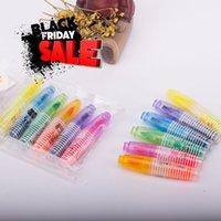 Wholesale Set Novelty Cartoon Animals Highlighter Fluorescent Pen Markers Gift Stationery Fvd