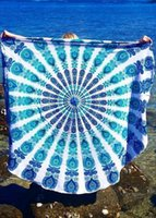Wholesale Hot Large Indian Blanket Mandala Tapestry Wall Hanging Boho Printed Beach Throw Towel Yoga Mat Table Cloth Bedding Home Decor