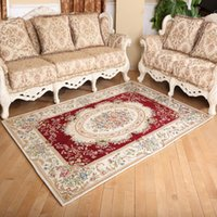 Wholesale Geng has European Garden thickened the living room carpet sofa table bedroom bedside carpet mats