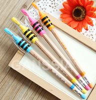 Wholesale Creative nature series mm lead mechanical pencil with sharpener School stationery pencils gift office zakka supplies ss