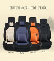 Wholesale Auto supplies linen four seasons general high end car MATS baolai lavida seat cushion sets
