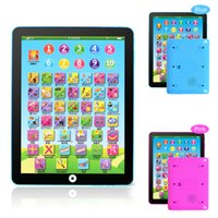 Wholesale Electronic Childrens Tablet Computer Ipad Kids Educational toys Early study Play Read Game Toy ZL1003