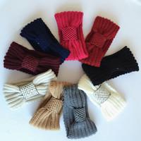 achat en gros de bandes de main de dames-2016 européens et américains populaire thermique tricoté bande de cheveux de paillettes main tissé de laine Hoop Lady Headband