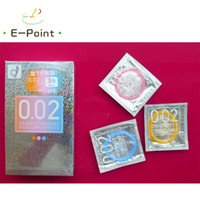 Wholesale Box Okamoto Condoms Excellent mm Thickness Colors Pink Yellow Blue Polyurethane Anti allergy Condoms Made in Japn