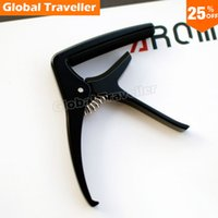 Wholesale 1 piece Popular style AROMA AC Metal Guitar Capo for Folk Acoustic Classical Guitar make beautiful music