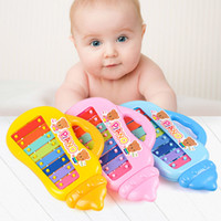 Wholesale Baby Happy Knocking Piano Musical Keyboards Toys for Kids Cartoon Bottle Shape Girls Boys Birthday Gift Cute