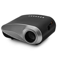 aspect ratio projector - H60 Mini LCD Projector Lumens x Resolution Aspect Ratio With HDMI VGA IR USB SD Card DC Headset Slot EU Plug