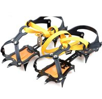 Wholesale 2017 Durable Crampons Ski Belt High Altitude Hiking Slip resistant Crampon Ice Gripper for Winter Outdoor Skiing