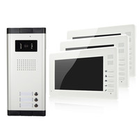 apartment high - XSL V70I V3 apartments video door phone quot LCD color screen with cute appearance and high quality buttons camera easy install
