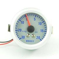 Wholesale mm Turbo Boost Gauge PSI pressure INHG VACUUM GAUGE meter Colorful luminous TURBO Mete