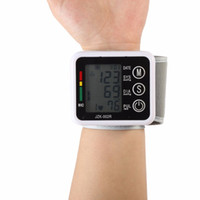 Wholesale Health Care Automatic Digital Wrist Blood Pressure Monitor Meter Cuff Blood Pressure Measurement Health Monitor Sphygmomanometer