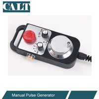 Wholesale CALT CNC Control Hand wheel Encoder axles MPG Manual Pulse Generator with E stop Milling Machine TM1474
