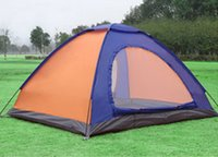 Wholesale extra large SUMMER NEW STYLE OUTDOORS CAMP OUT TRAVEL WATERPROOF WINDPROOF CONVENIENCE COMFORT SPORTS CAMPING FULL AUTOMATIC double deck