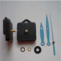 Azul DIY Reloj Accesorios Movimiento de cuarzo Mejor Reloj de cuarzo Mecanismo Accesorios de piezas Accesorios de reloj Reloj silencioso Pared decorativa