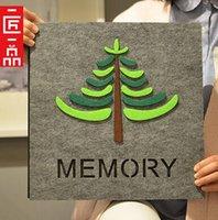 big black albums - The new tree DIY register baby grow big album paste type children black self adhesive photo album