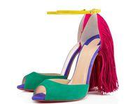 Wholesale women Sandals Lady shoesFashion shoes Tassel sandals Mosaic party wedding sandals sexy shoes dress shoes