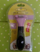 Rakes, Brushes & Combs Plastic None 100Pcs lot Purple Fasaiton small deShedding Tool Brush Pet brush for Dog Grooming