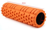Wholesale Colors Eco friendly Yoga Foam Roller for Yoga Block Bricks Trainning Fitness Rollers With Trigger Points