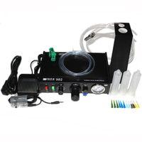Wholesale FEITA FT Black Semi auto Glue Dispenser Solder Paste Liquid Controller Dispensing Dropper Machine with Glue Syinges Tips Adapter