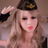 Wholesale Europe Style Three Holes White Skin Blond Hair Inch KG Realistic Skeleton Real Silicone Sex Doll