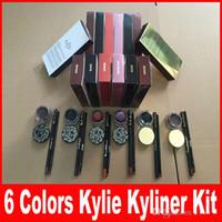 best brand eyeliner - Best Kylie Jenner Kyliner Gel Eyeliner Makeup Make Up Waterproof Cosmetics Set Eye Liner Makeup Brand Eyes eyeliner cream kylie kits Sets