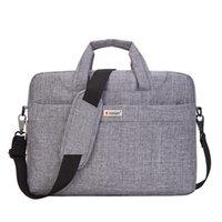 Wholesale High Quality Notebook Mssenger Shoulder Bag Men Women Laptop Bag Computer Crossbody Carry Sleeve Solid Color ZG0070