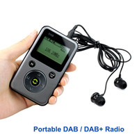 Wholesale Portable DAB Radio FM Stereo Radio Receiver Digital TF Card MP3 Player Pocket Radio Station PPM001 Y4107H