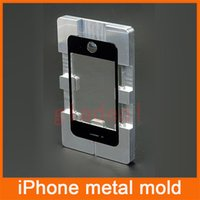 aluminium repair - Quality Aluminium Alloy Metal Mold Mould for iPhone S C plus S plus LCD Touch Screen Separator Repair Refubish Machine Tool