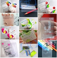 art design company - Customized PVC business card plastic Stationary office supplies business cards Personal design and print High quality Professional company